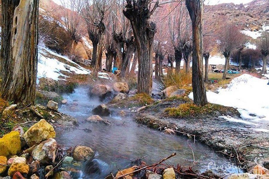 زمستان چشمه قلقل دامغان