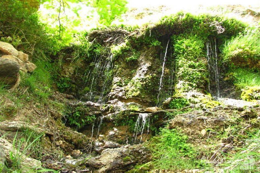 آبشارهای چشمه قلقل دامغان