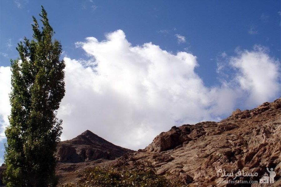 آسمان چشمه قلقل دامغان