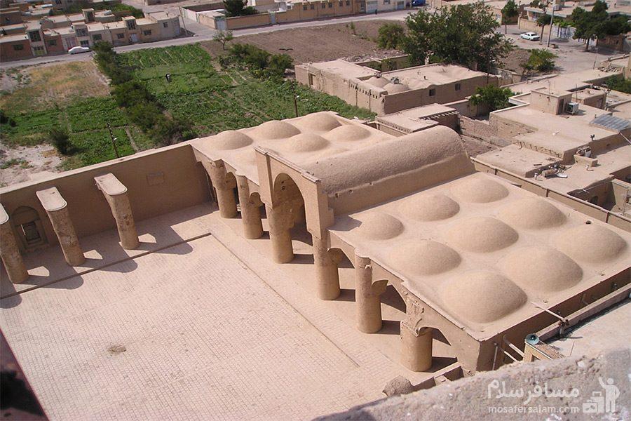 نمای بالایی مسجد تاریخانه