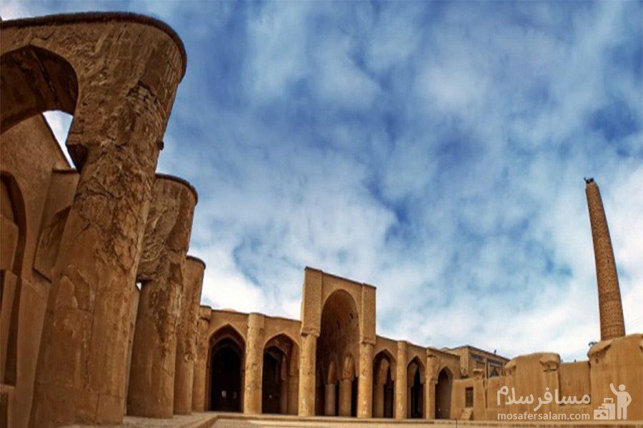 بنای تاریخی مسجد تاریخانه دامغان