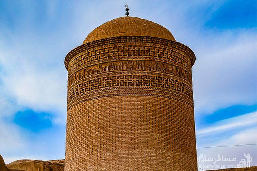 برج پیر علمدار-دامغان