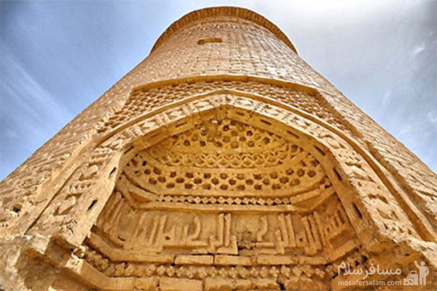 تصویری زیبا از برج پیر علمدار