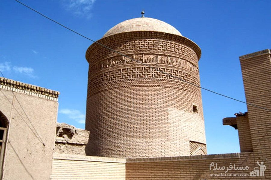 برج پیر علمدار-بنا تاریخی-دامغان