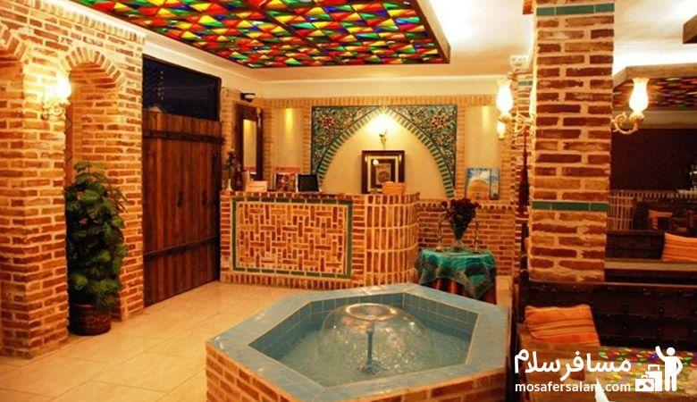سفره خانه سنتی در مشهد