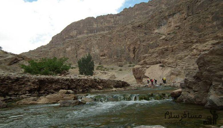 رودخانه در مشهد