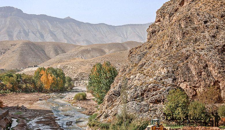 رودهای اطراف مشهد | رودخانه ارداک