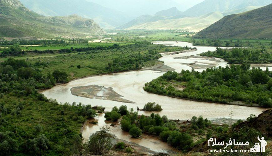 رودهای اطراف مشهد