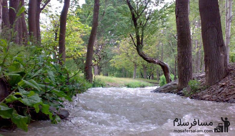 رودخانه گلمکان | رودهای اطراف مشهد