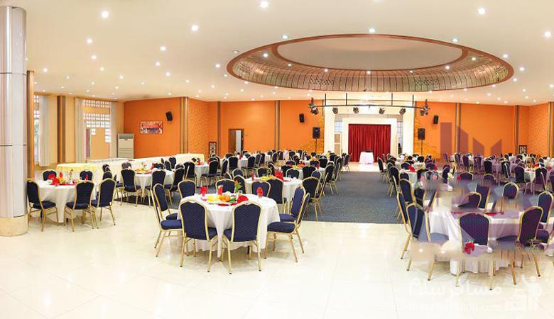 مراسم عروسی در تالار هتل توریست توس مشهد