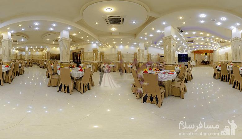 سالن مجالس تالار هتل توریست توس مشهد