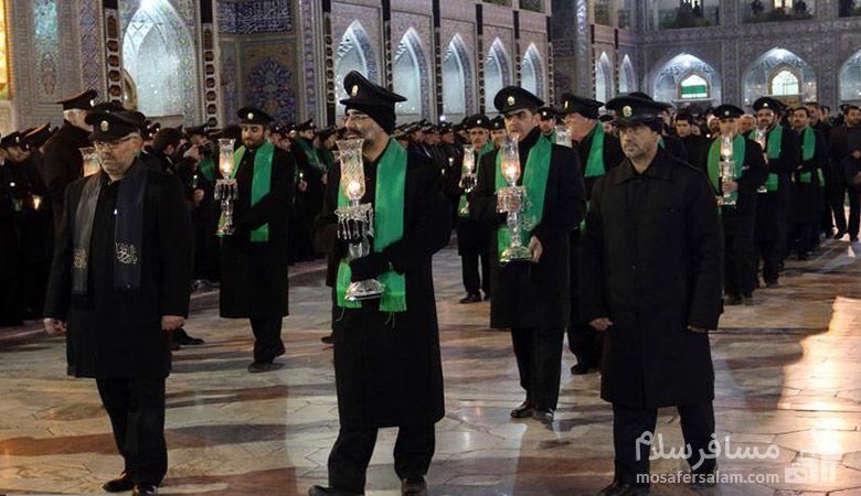 عزاداری در مشهد