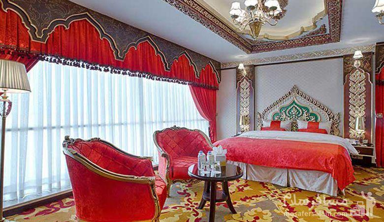 اتاق ماه عسل هتل الماس 2, رزرواسیون مسافر سلام