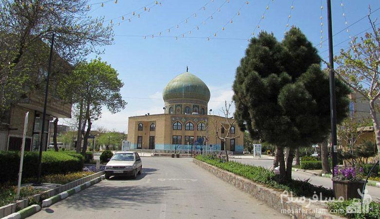 مسجد منطقه رضویه