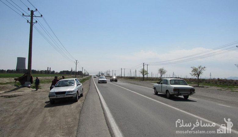 اتوبان ورودی شهر رضویه مشهد