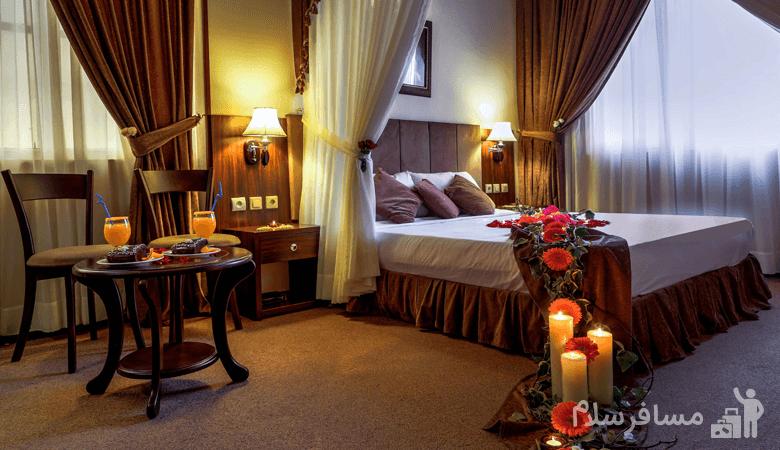 اتاق ماه عسل هتل درویشی, رزرواسیون مسافر سلام