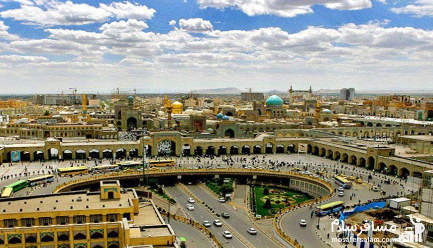 اسم خیابان های مشهد