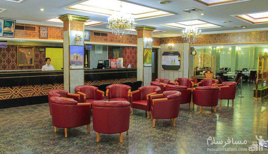 هتل فجر مشهد کافیشاپ