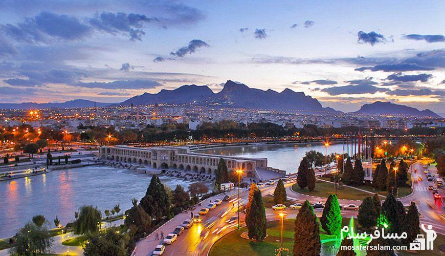 تور هتل بشری مشهد از اصفهان