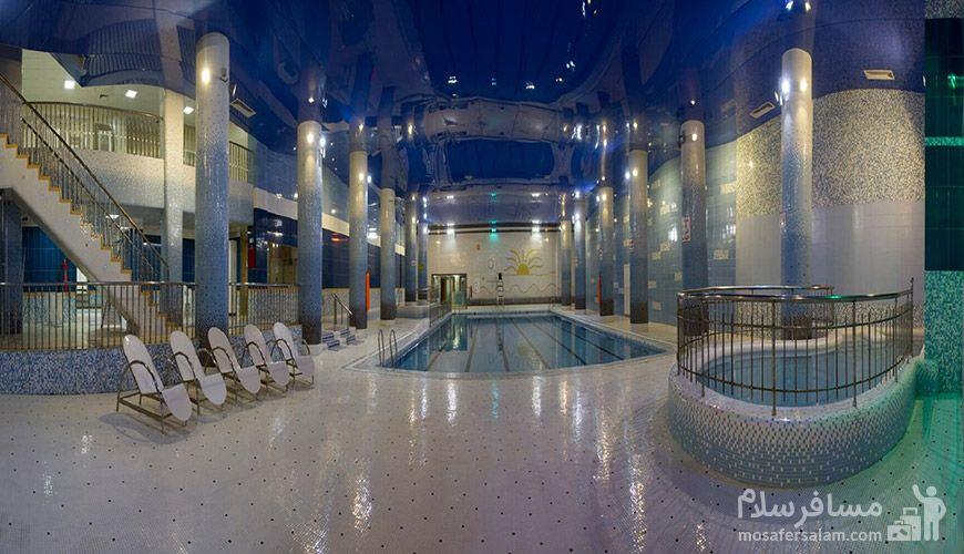 استخر هتل خورشید مشهد