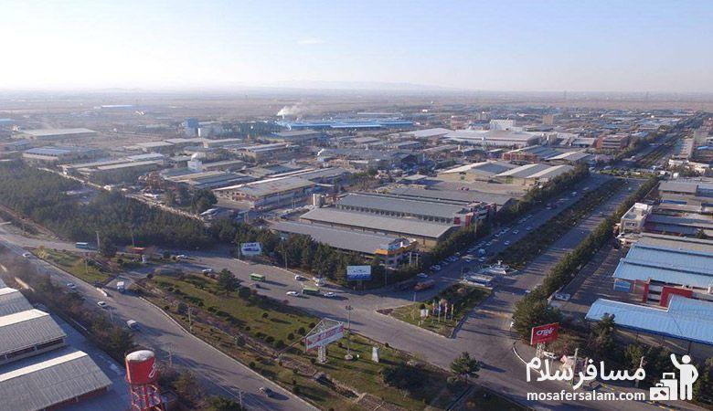 شهرک های صنعتی مشهد