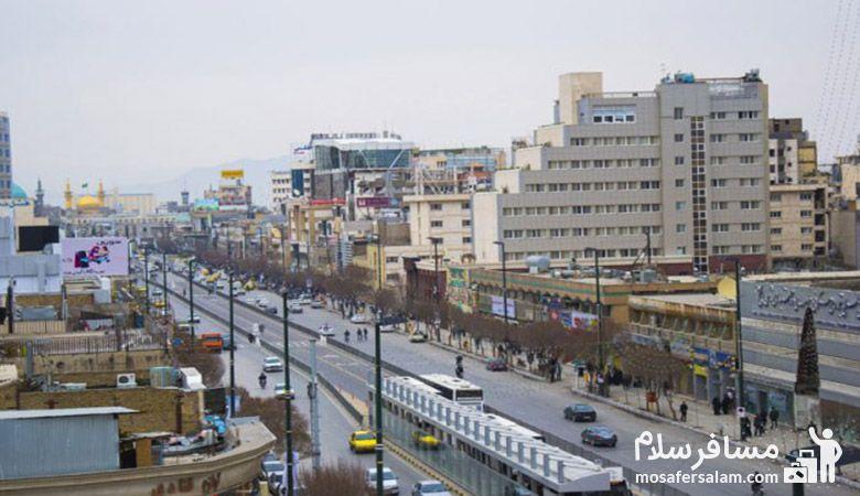 بلوار امام رضا مشهد