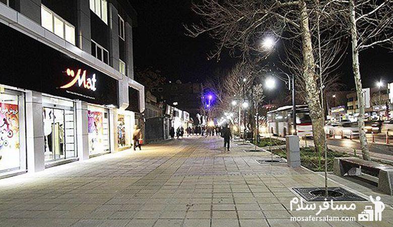 خیابان احمدآباد مشهد