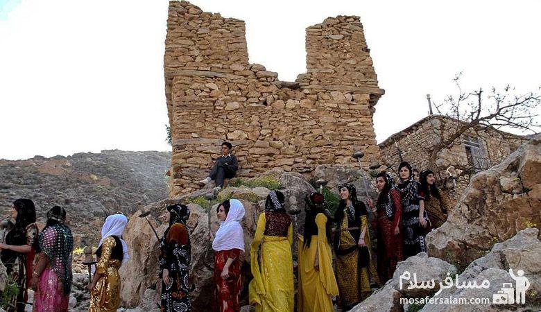 نوروز در مناطق روستایی کرمانشاه