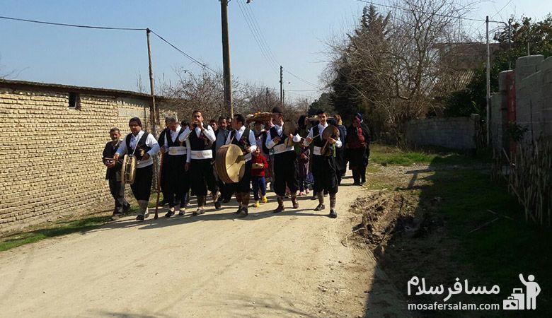 جشن نوروز در مازندران