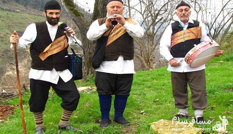 نوروز خوانان در مازندران