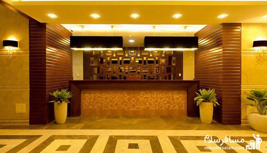 شماره هتل پارسیس
