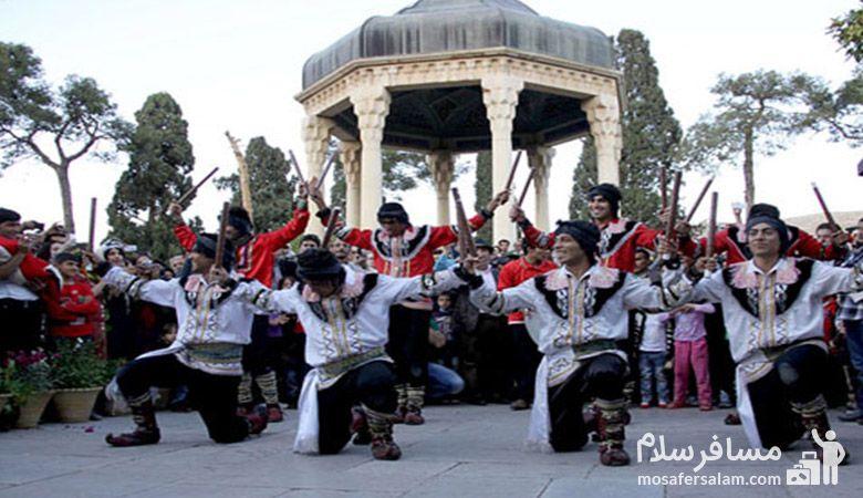 نوروز در شیراز