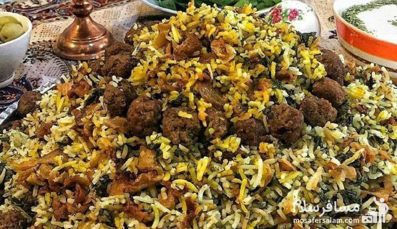 غذاهای شیرازی در نوروز