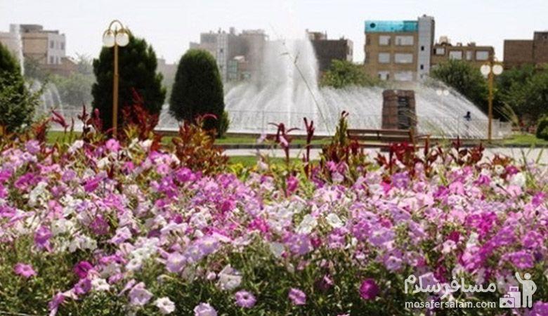 بوستان حجاب مشهد