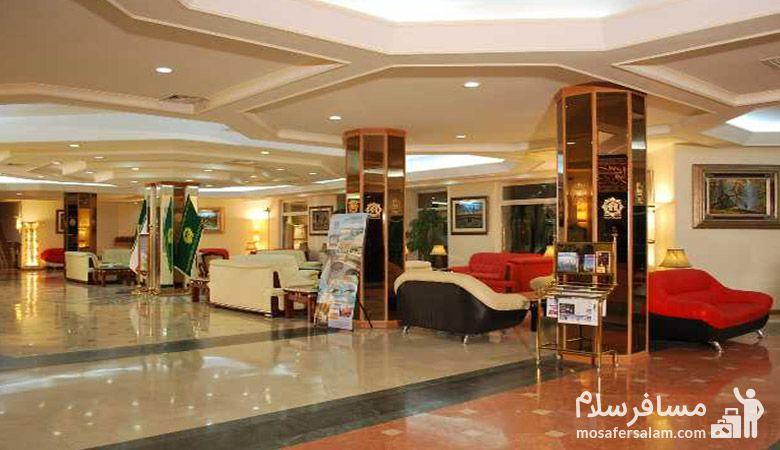 لابی هتل قصر الضیافه مشهد, هتل قصرالضیافه