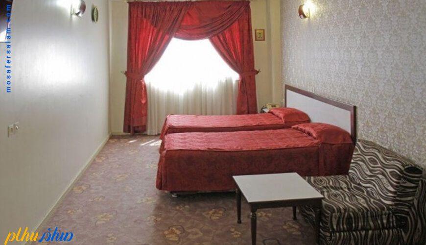 اتاق هتل فجر مشهد