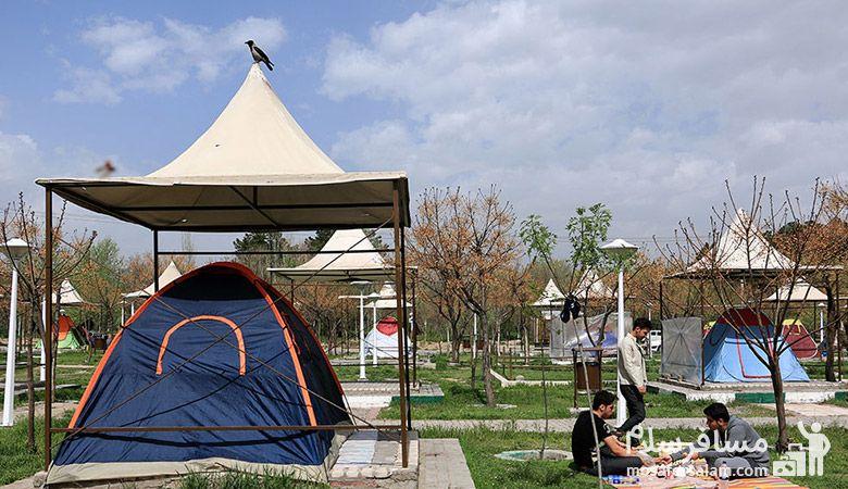 کمپ غدیر مشهد در نوروز