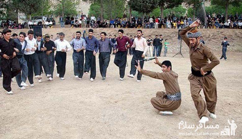 بازی های محلی نوروز در کرمانشاه