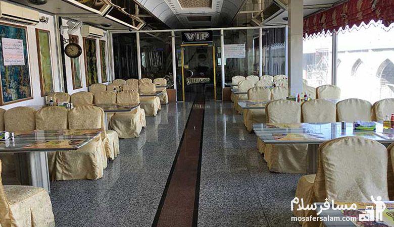 رستوران هتل قصرالضیافه نجف