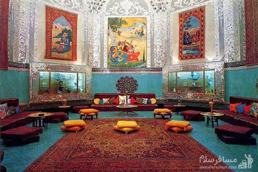 داخل کاخ صفی آباد
