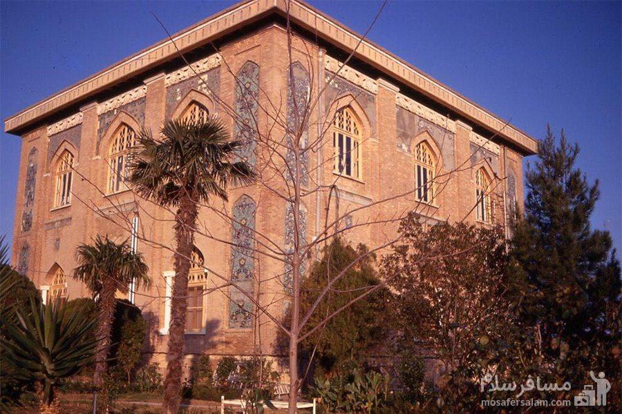 ساختمان کاخ صفی آباد