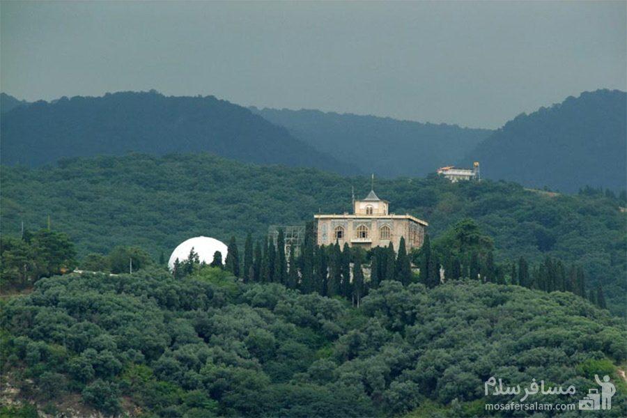 کاخ صفی آباد در ارتفاعات بهشهر