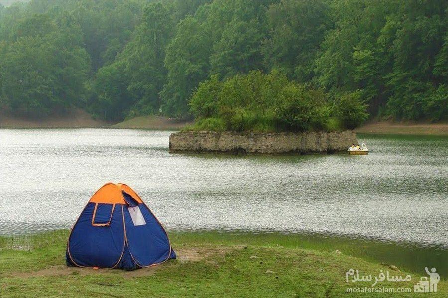 ییلاق دریاچه عباس آباد