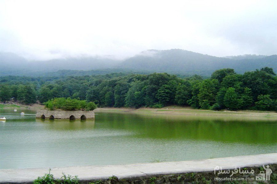 طبیعت ناب دریاچه عباس آباد