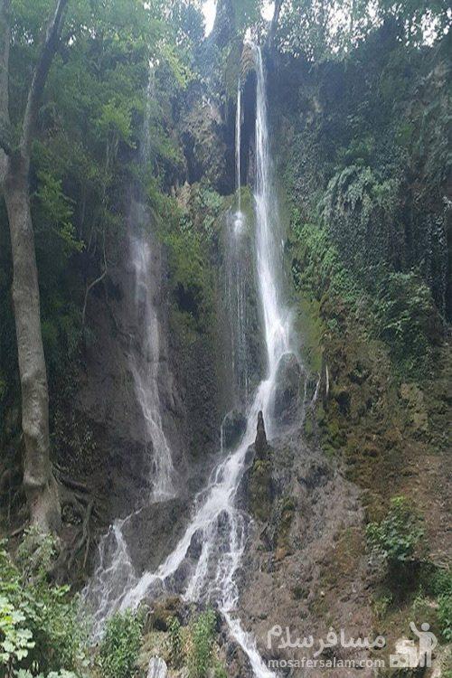ارتفاع آبشار سمبی