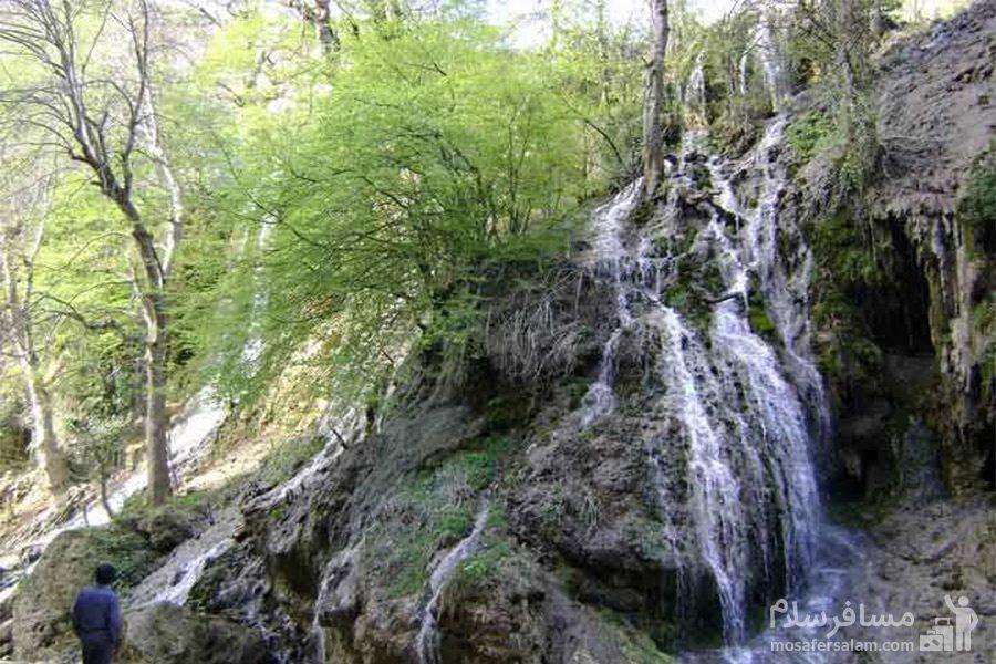 آبشار سمبی مازندران
