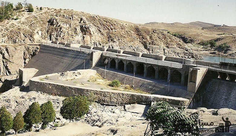 بنای تاریخی بند گلستان