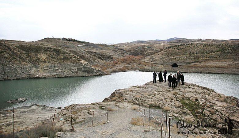 ارتفاع بند گلستان مشهد