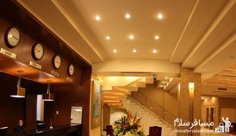 لابی هتل فردوس مشهد، Ferdows Hotel Mashhad