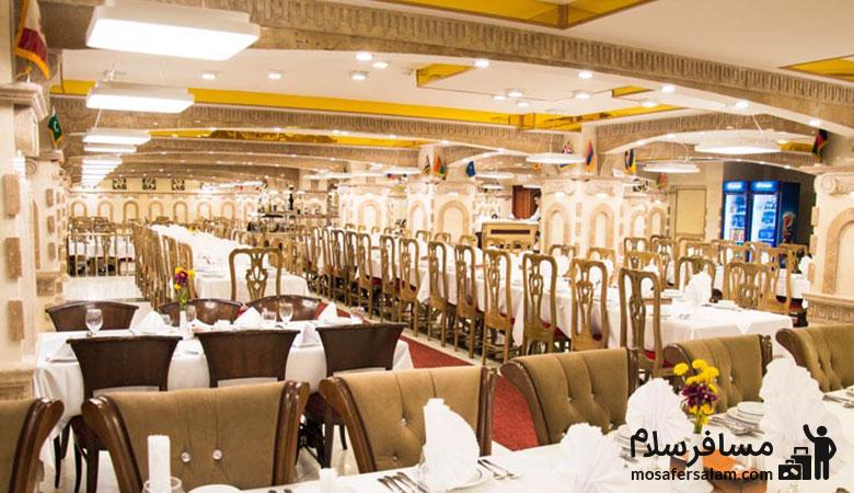 Ferdowsi-Hotel-Olive-Restaurant، رستوران زیتون هتل فردوسی تهران